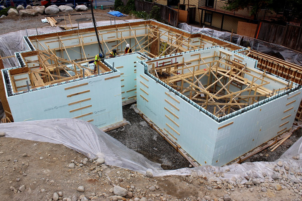 Built Green Canada Nudura Insulated Concrete Form